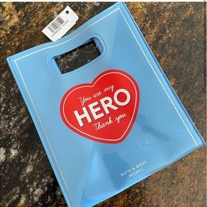 Price FIRM New Bath and Body Works Hero Bag
